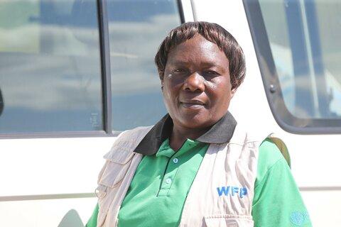 Kvindelig chauffør for Stop Sult
