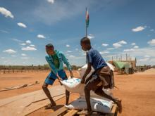 Fleksible bidrag gjorde det muligt for WFP at nå frem til verdens fordrevne og forsømte i 2018