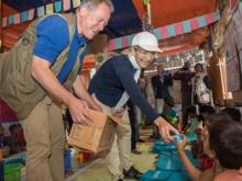 Danmark øger sit bidrag til Rohingya flygtninge og værtssamfund gennem WFP